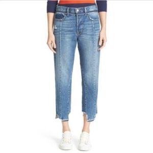 FRAME DENIM Vintage Fit High Waist Crop Jeans